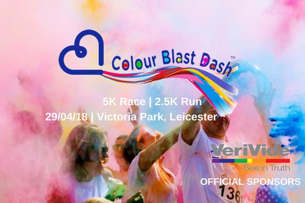 VeriVide are proud sponsors of the Colour Blast Dash