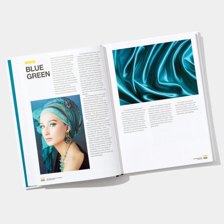 blur green in book