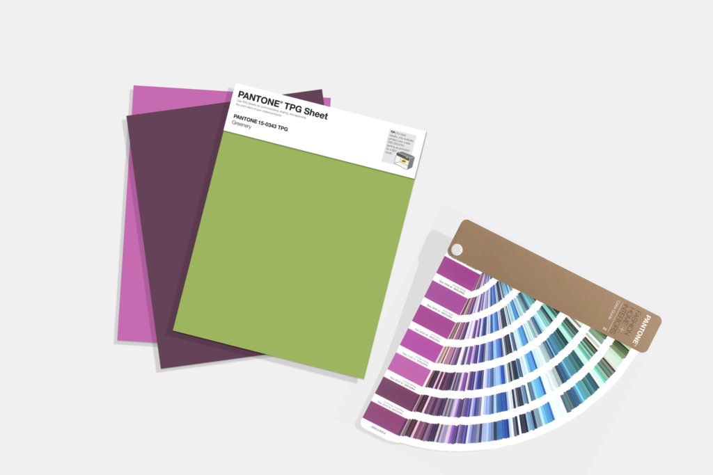 Seeing colour in a big way – Pantone introduces TPG sheets