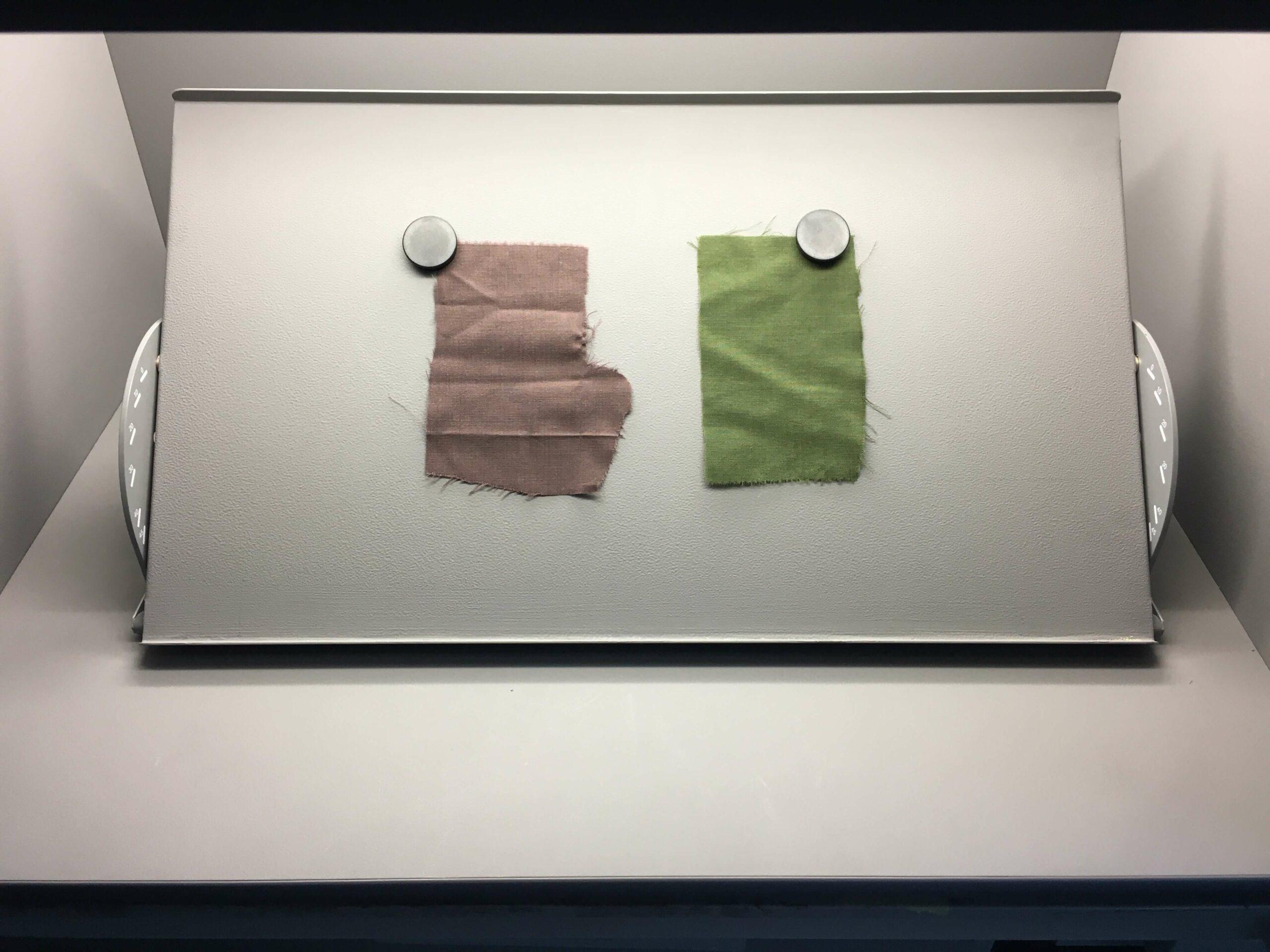 colour comparision
