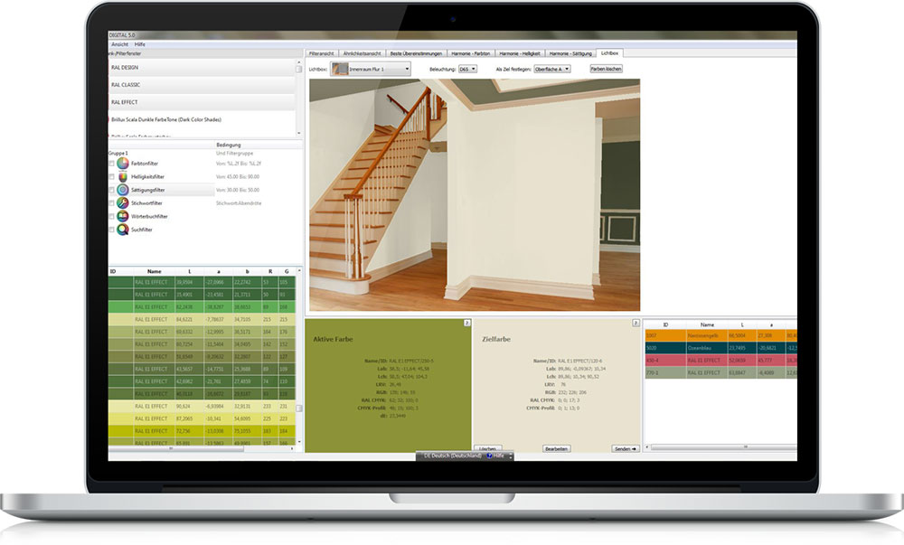 Designers, architects, interior designers – here's why you should be using RAL Digital 5.0