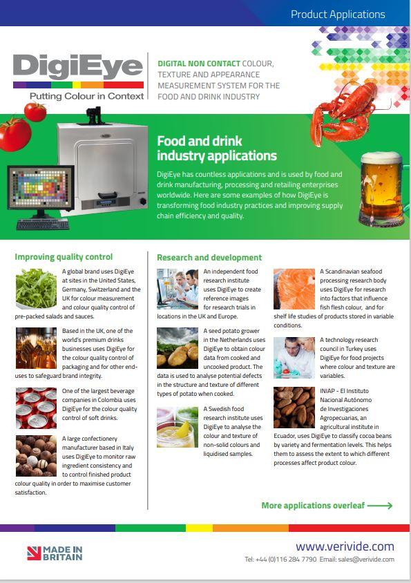 DigiEye Non-Food Brochure