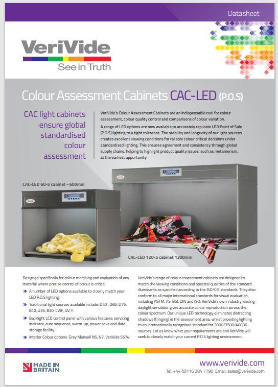 Colour Assessment Cabinet LED