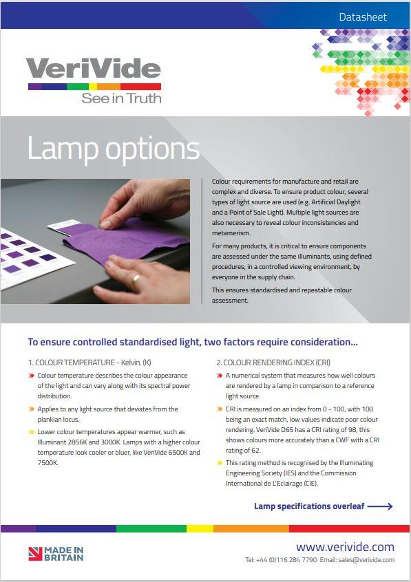 Lamp Options