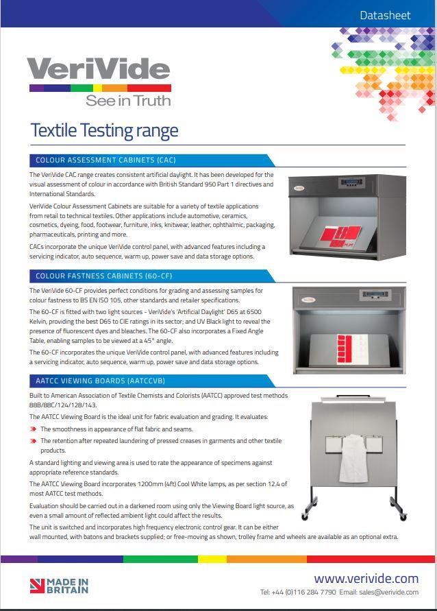 Textile Testing Range