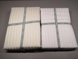 Hotel bedding under lighting in a Colour Assessment Cabinet